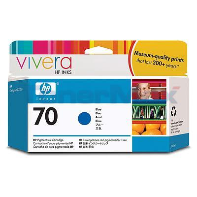 HP DESIGNJET Z3100 NO 70 INK BLUE 130ML